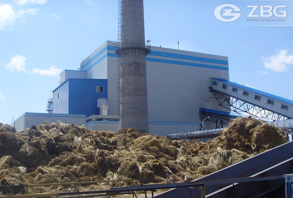 Soya Stalk Biomass Power Plant Boiler