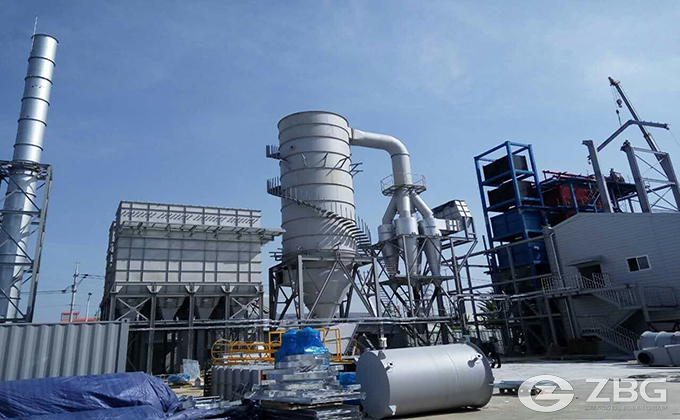 30 Ton Biomass Chain Grate Boiler Project in South Korea