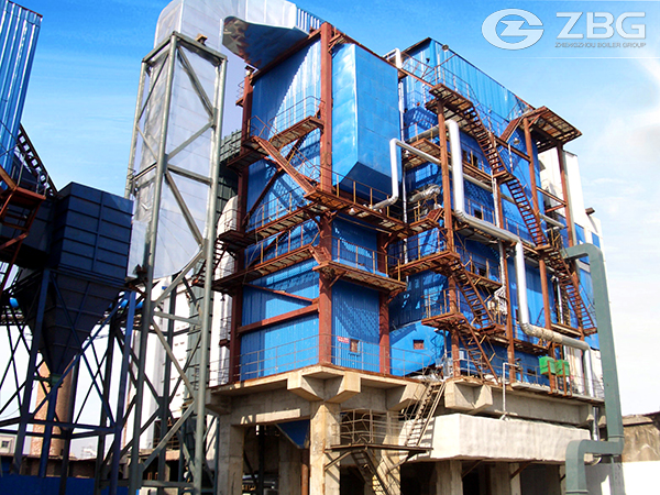 Saw Dust Biomass CFB Boiler