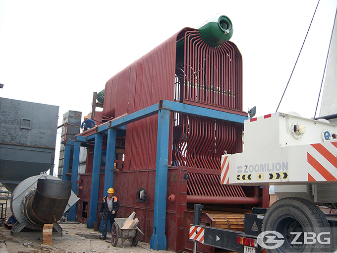 4 Ton Biomass Chain Grate Boiler Was Exported to Bali Indonesia