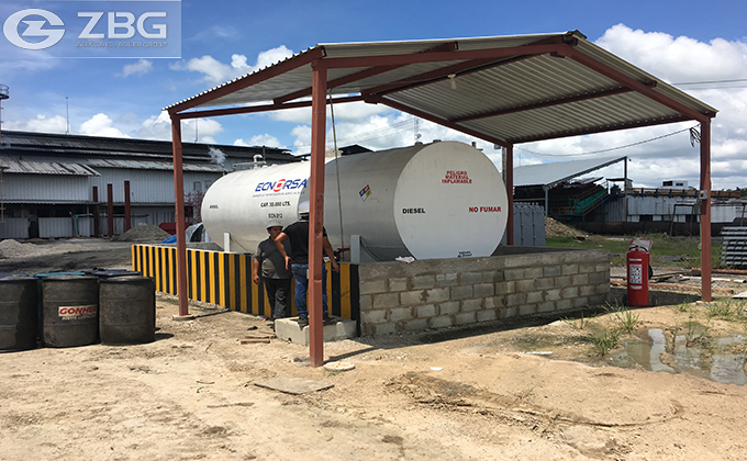 30 Tons of Biomass Chain Grate Boiler Project in Mexico