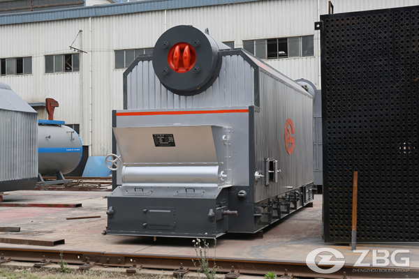 Paddy Stalk Biomass Chain Grate Boiler
