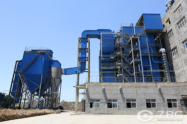 Wheat Stalk Biomass Chain Grate Boiler