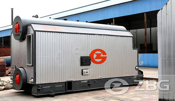 10 t biomass fired hot water boiler for hotel