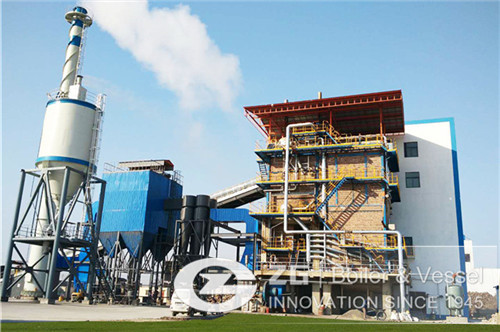 15MW biomass power plant steam boiler in india